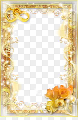 Wedding Frame Png Wedding Frame Transparent Clipart Free Download