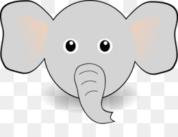 Drawing Cartoon Illustration Cartoon Elephant