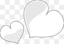 White Heart Png White Heart Transparent Clipart Free Download