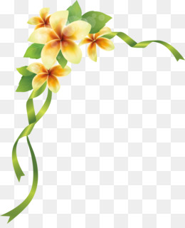 Flower Corner Png Free Download Flowers Background Free