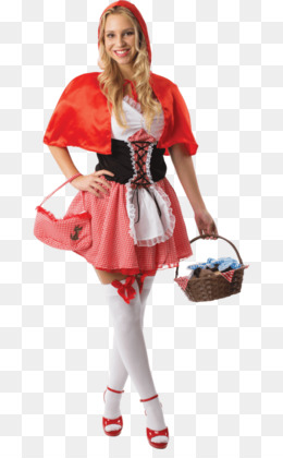 13102f2c377a Little Red Riding Hood Costume PNG and Little Red Riding Hood ...