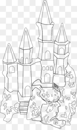 Castle Outline Png And Castle Outline Transparent Clipart Free Download
