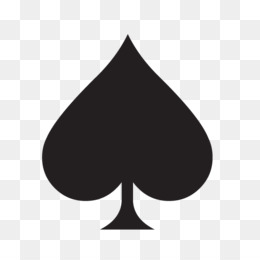 spade card png  Spade png free download - Leaf Silhouette - spade