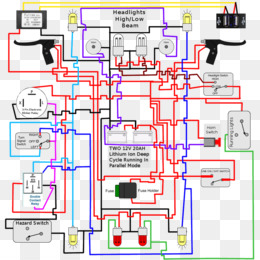 wiring diagram light electrical wires & cable signal - light