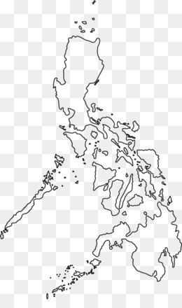 Philippines Map Png Philippines Map Black Philippines