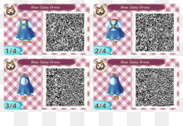Codes png free download - Animal Crossing: New Leaf QR code Clothing