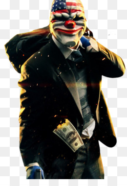Payday 2 Video Games Overkill Software Clown Fictional Character