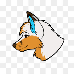 Furry Fandom png free download - Furry Drawing - adesivo stamp